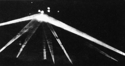 February 1942: Army opens fire on a huge UFO over Los Angeles.